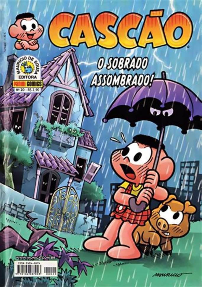 CASCÃO,PANINI020-20130809TURMA DA MÔNICA