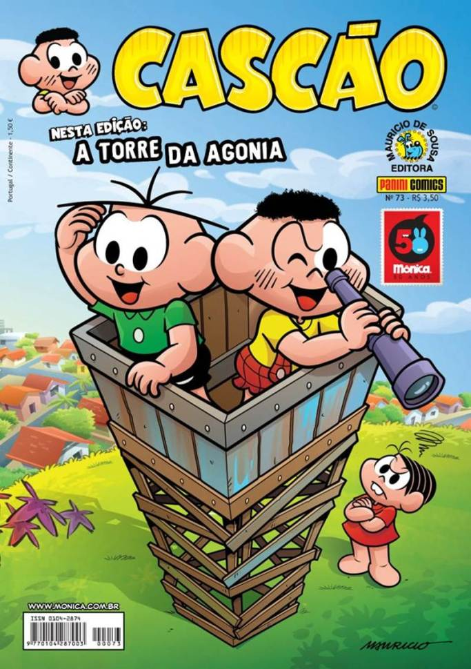 CASCÃO,PANINI073-20130809TURMA DA MÔNICA