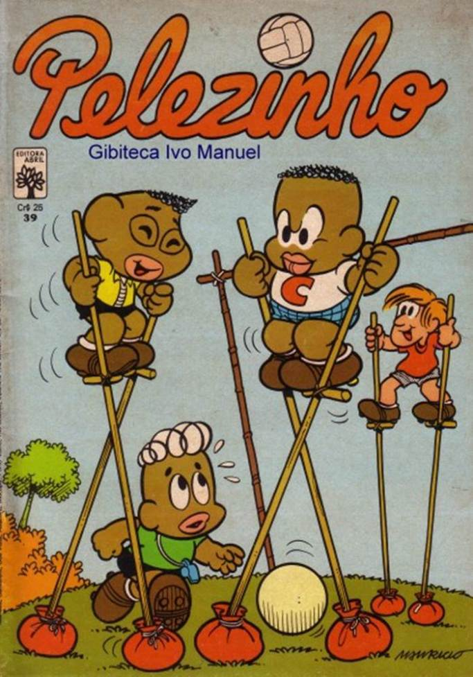 Pelezinho - 1977-1982039-20130810TURMA DA MÔNICA