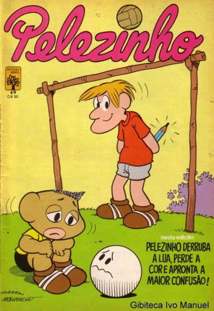 Pelezinho - 1977-1982049-20130810TURMA DA MÔNICA