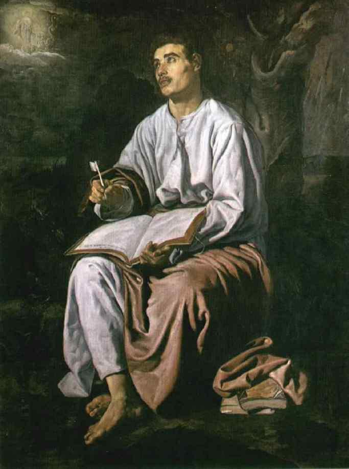 2 - Velazquez - São João Evangelista em Patmos - National Gallery, Londres