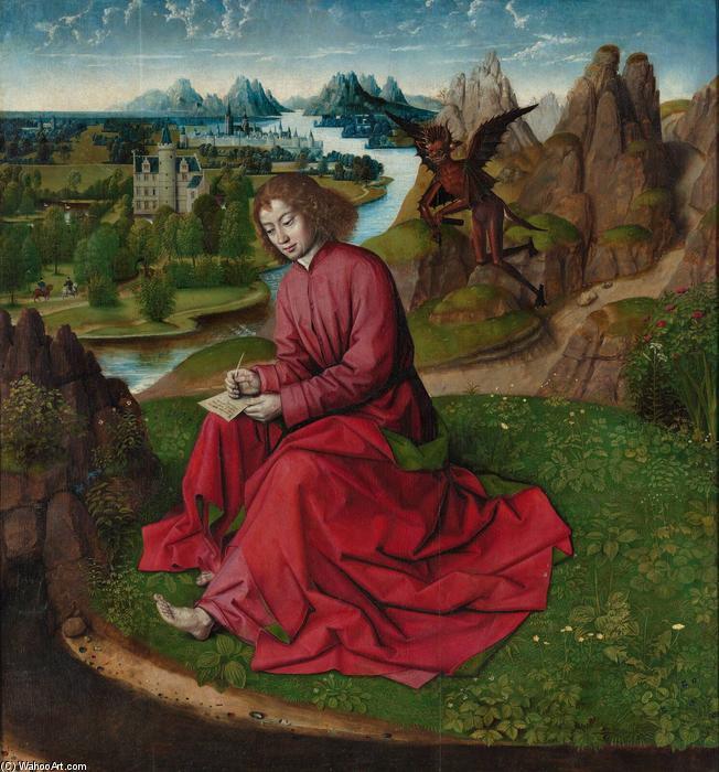 Dirk-Bouts-Saint-John-the-Evangelist-on-Patmos