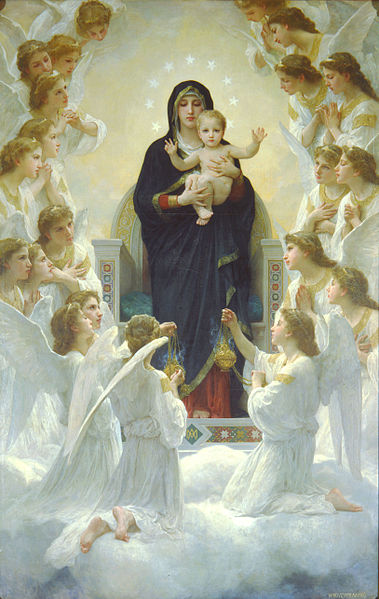 379px-Bouguereau_The_Virgin_With_Angels