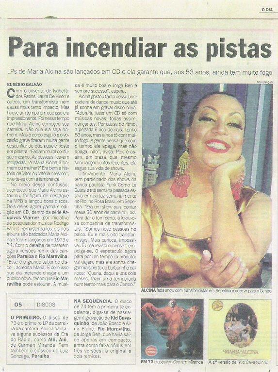 MARIA ALCINA O DIA